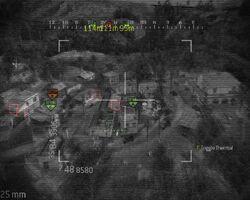 Chopper Gunner Kill streak in use