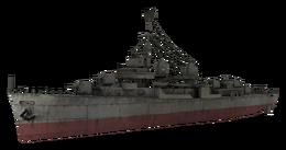 Fletcher-class destroyer model WaW