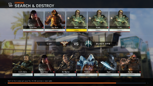 Search and Destroy loading screen BO3