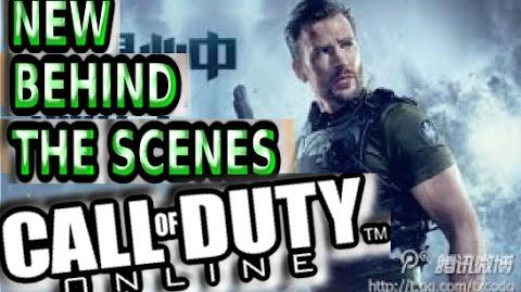 NEW Call of Duty Online Behind The Screnes Trailer w CHRIS EVANS! Cyborg Zombies COD China Gameplay