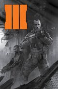 Comic Prequel Cover Second Print BO3