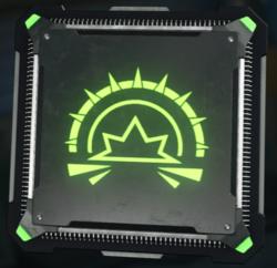 Concussive Wave cyber core icon BO3