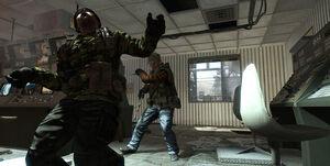 Ballistic Knife Back Black Ops