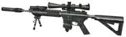 MK12 SPR Silencer Third Person MW3