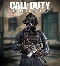Keegan Multiplayer Skin CoDG