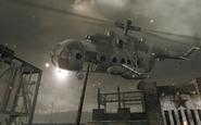 Mi-8 hit by a harpoon Vorkuta BO