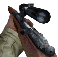 Scoped Mosin-Nagant CoD