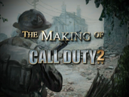 CoD2 Special Edition Bonus DVD - The Making of Call of Duty 2