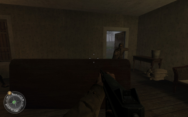 File:Exiting last house Approaching Hill 400 CoD2.png