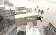 Airstrike bomb in flight map Crossfire COD4