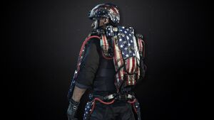 United States Exoskeleton Pack AW