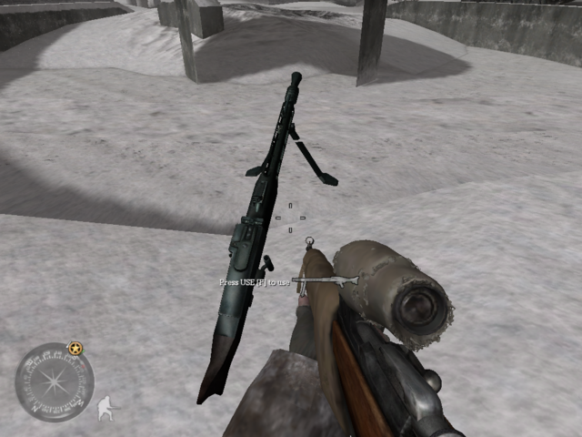 File:MG42 Deployed Call of Duty 2.png