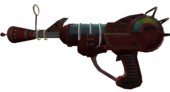 Ray Gun 3rd person view WaW