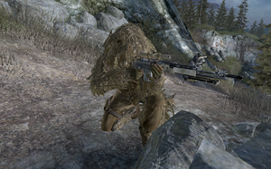 Toad providing sniper support Loose Ends MW2