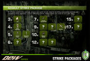 Dew back strike-packages