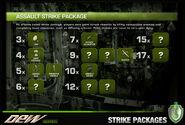 Dew back strike-packages