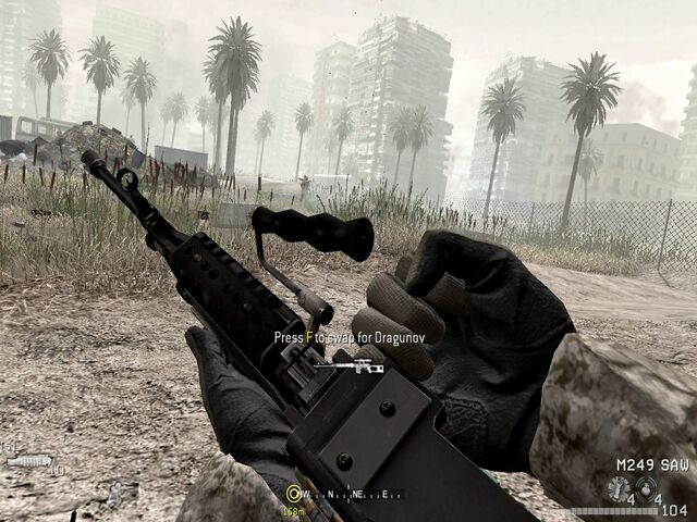File:Swapping Dragunov for M249 War Pig CoD4.jpg