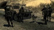 Shadow Company squad guarding MW2