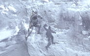 Soap in mid-air Cliffhanger MW2