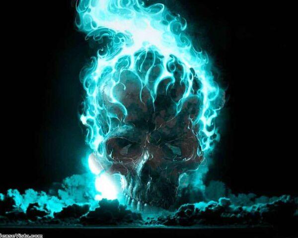 File:Personal USMCdevildog199837's Blue Flaming Skull.jpg
