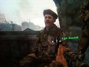Randall sitting world at war final fronts