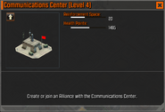 Communications Center Level 4 Stats CoDH