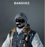 Banshee Face Paint BO