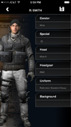 Call of Duty (app) Soldier Customization