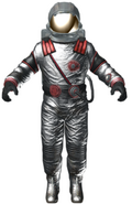 Astronaut Zombie character model BO