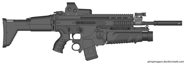 File:SCAR-L Mod. 3 Infantry Rifle.jpg
