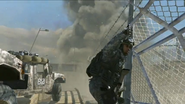 Team Player Ranger signaling convoy MW2