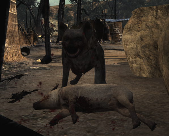 File:Hyena eating Back on the Grid MW3.png