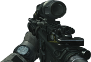 M4A1 Hybrid Sight On MW3