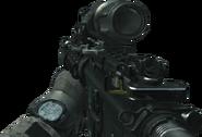 M4A1 Hybrid Sight On MW3