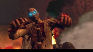 Black Ops II Zombie Closeup