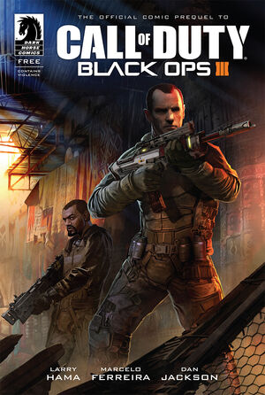 BO3 Comic Prequel Cover