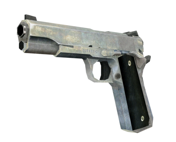 File:M1911 Nickel Plated model CoD4.png