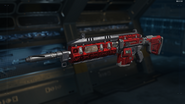 Man-O-War Gunsmith Model Red Hex Camouflage BO3