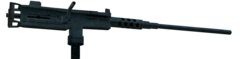 M2 Browning 3rd Person MW