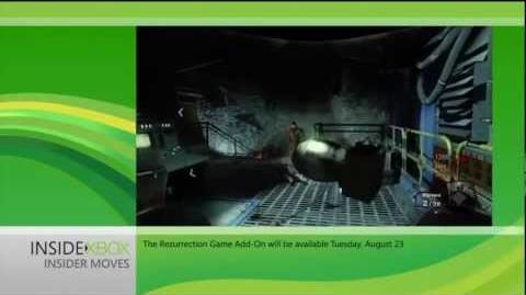 """Call Of Duty Black Ops - Inside Xbox """"Rezurrection"""" Moon Gameplay HD"""