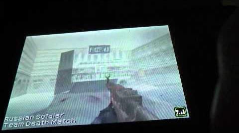 Call of Duty Black Ops DS Multiplayer gameplay Wifi battle 3 Crossfire map