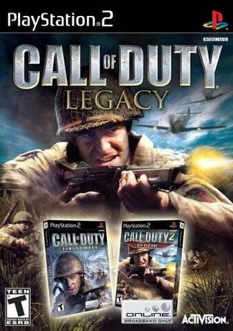 File:Call of Duty Legacy art cover PS2.jpg
