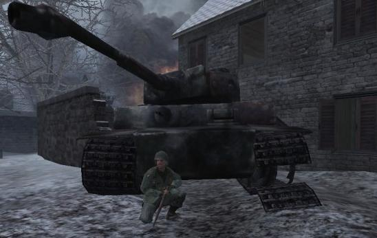 File:Anderson taking cover in Tiger I CoD UO.png