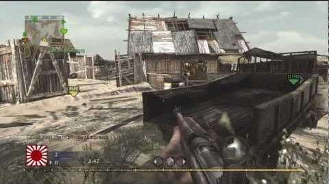 Call of Duty WAW Capture The Flag on Makin Day II