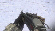 Slug Rounds Hipfire Reticle CoDG