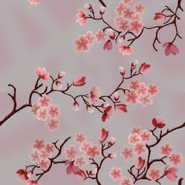 Cherry Blossom Camouflage texture BOII