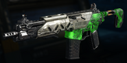 Peacekeeper MK2 Gunsmith Model Weaponized 115 Camouflage BO3