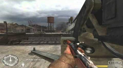 Call Of Duty United Offensive Kharkov 2 Train Station Veteran tactic 1