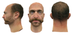 John Price head test models CoD4