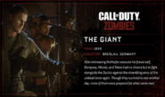 The Giant Full Biography BO3